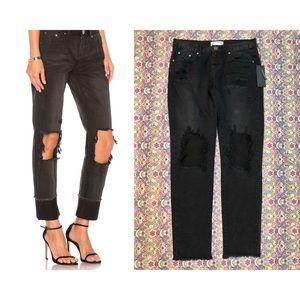 σиє тєαѕρσσи - NWT Distressed Baggy Jeans